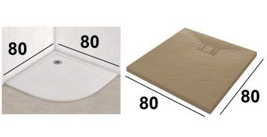 platos de ducha resina 80x80